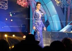 Desfile en traje de Gala/ Foto: Cortesía Miss Venezuela