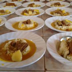 Platos de comida Programa Alimenta la Solidaridad Miranda Foto: Prensa Capriles