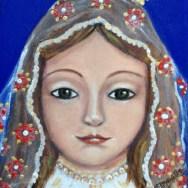 Marielba Marcano, la pintora de las Vírgenes de Margarita 2