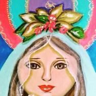 Marielba Marcano, la pintora de las Vírgenes de Margarita 4