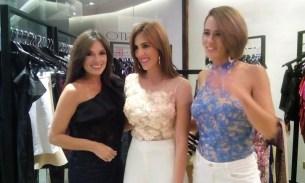Melissa Rousseo, María Gabriela di Silvestre, diseñadora de Todasanta y Valeria Valle