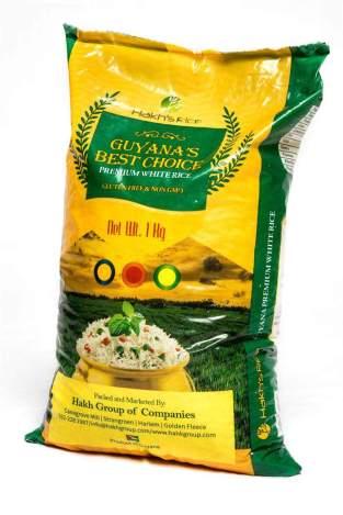 Fotografía de un paquete de arroz importado de Guyana este viernes, 12 de enero de 2018, en uno de los llamados Comités Locales de Abastecimiento y Producción, conocidos como CLAP, en Caracas (Venezuela). Foto EFE