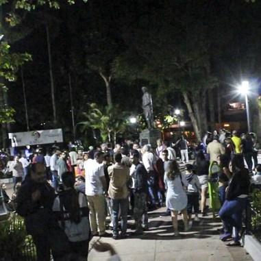 Iluminación plaza Bolivar el Hatillo 03