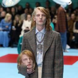 Semana de la Moda en Milan, firma Gucci/ Foto: EFE