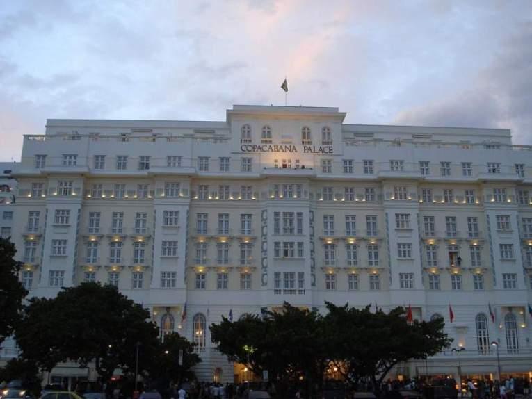 Copacabana Palace, en Río de Janeiro