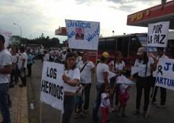El pueblo de Arapuey, al norte del estado Mérida, exigieron justicia por sus familiares muertos y heridos en manifestaciones por comida 13