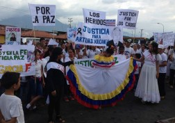 El pueblo de Arapuey, al norte del estado Mérida, exigieron justicia por sus familiares muertos y heridos en manifestaciones por comida 4