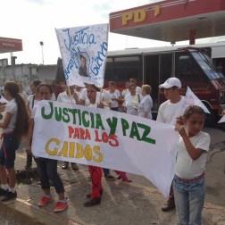 El pueblo de Arapuey, al norte del estado Mérida, exigieron justicia por sus familiares muertos y heridos en manifestaciones por comida 7