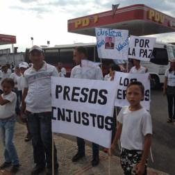 El pueblo de Arapuey, al norte del estado Mérida, exigieron justicia por sus familiares muertos y heridos en manifestaciones por comida 9