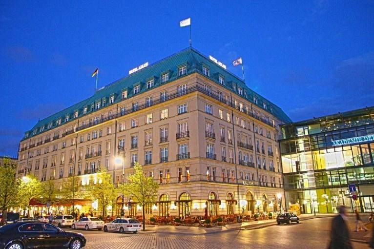 Hotel Adlon. Foto: Cortesía Pixabay