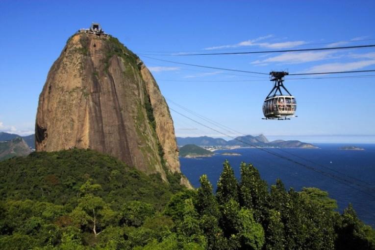 Teleférico de Pan de Azúcar, en Río de Janeiro