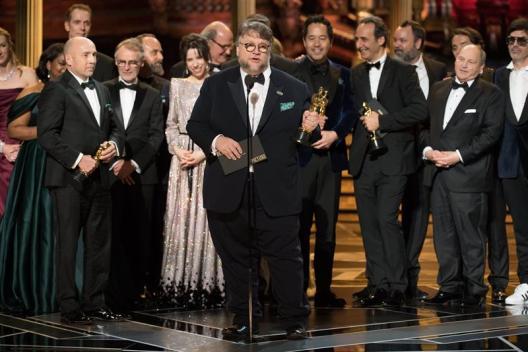 Guillermo Del Toro en los Premios Óscar
