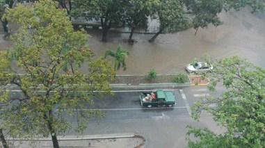 Lluvias en Tanaguarenas, quedó inundada, Vargas