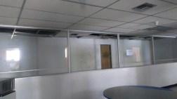 Oficinas sin aire acondicionado
