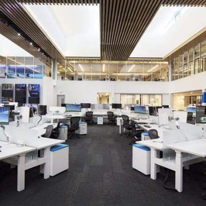 Instalaciones de Telemundo y NBC/ Foto: EFE