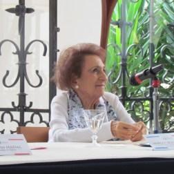 La fundadora de la Cinemateca Nacional, Margot Benacerraf, fue la protagonista y encantó a los presentes con los relatos de su trayectoria