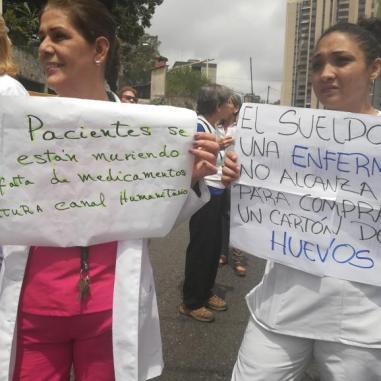 Protesta en Miranda