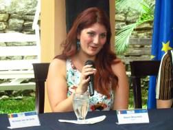 La soprano italiana, Noemi Muschetii, expresó su emoción al estar por primera vez en Venezuela/ Foto: Albermary Aponte