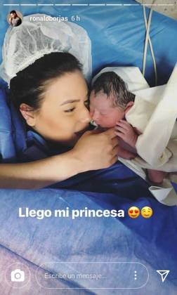 Verónica Salvatierra, esposa de Ronald Borjas/ Foto: Instagram @ronaldborjas