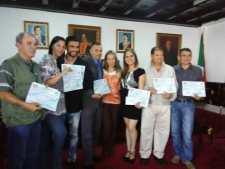 Los comunicadores recibieron sus premios municipales