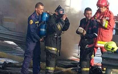 bomberos zulia incendio