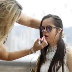 Marián Ávila, primera modelo española con Síndrome de Down/ Foto: EFE