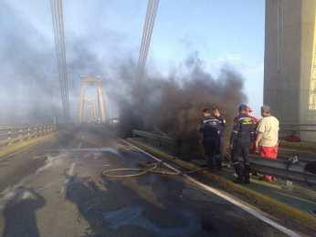 puente maracaibo incendio