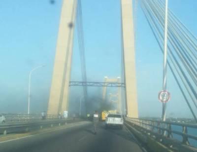 zulia puente incendio