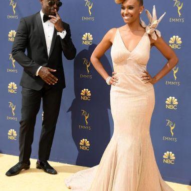 Sterling Brown y Ryan Michelle Bathe/ Foto: Referencial
