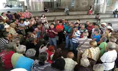 jubilados protestan
