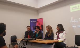 Panel de entrevistados en RDP Festival Nuevas Bandas