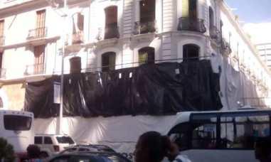 casco historico fachada