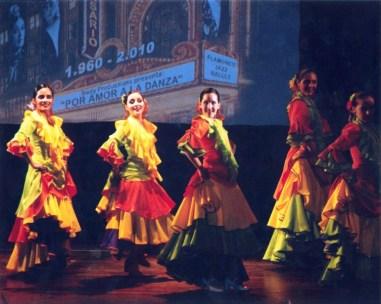 Bailaoras de la Academia Siudy/ Foto: Cortesía