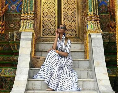 Miss España Luciendo Diseño Mara