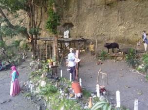 Las ovejas forman parte del pesebre