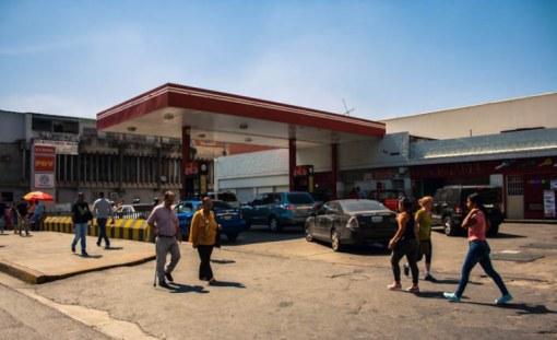 Estación de servicio de Artigas / Foto: Valentín Guimar