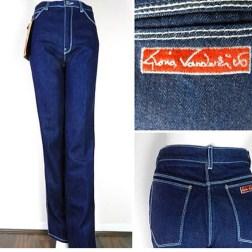 Una muestra de sus famosos jeans