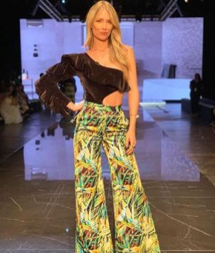 Alessandra Villegas en la Miami Fashion Week 2019 / Foto: Instagram