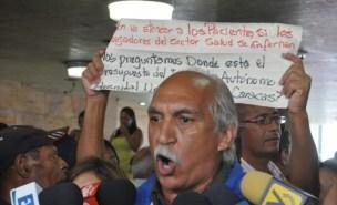 Presidente de la Federación Venezolana de Maestros / Foto: Lisandro Casaña