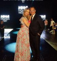 Alessandra Villegas y Daniel Sarcos en la Miami Fashion Week 2019 / Foto: Instagram