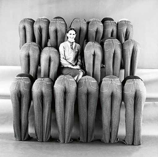 Gloria Vanderbilt y los famosos jeans con su firma