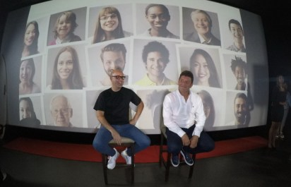 Santiago Otero, CEO de Evenpro y Otto Ballaben, CEO de Arepa Music