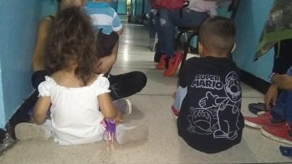 Los hijos de Jessica Díaz y ella presentan un cuadro de desnutrición/Foto: Zulma López
