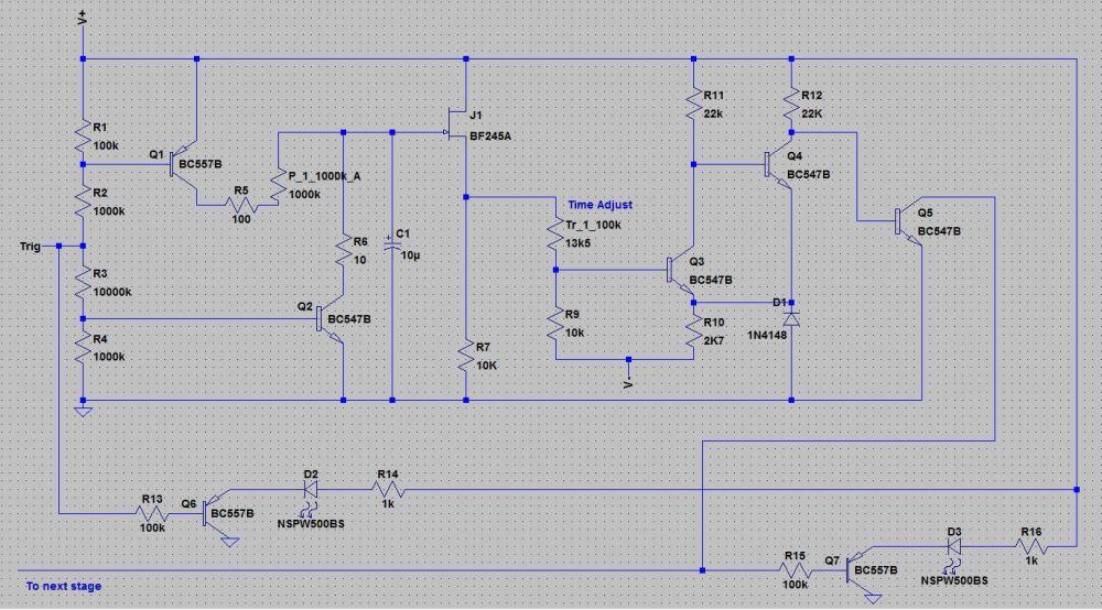 medium resolution of  t911 envelope generator schematic