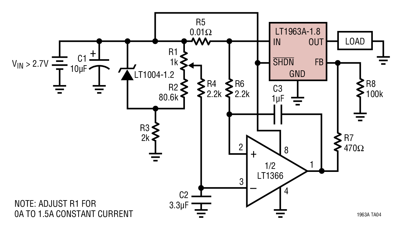 voltage controlled voltage reference schematic