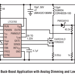 Led Dimming Driver Wiring Diagram 2001 Chevy Silverado Ltc3783 Single Inductor Buck Boost With Analog