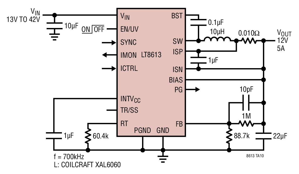 small resolution of 12v step down with 5a output current limit