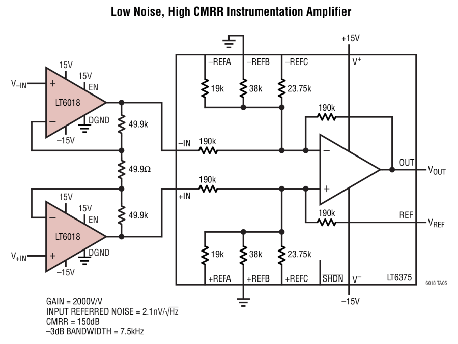 low noise operational amplifier