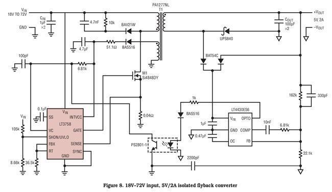 24v to 5v step up dc dc converter