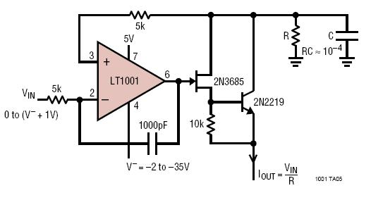 constant current sink circuit